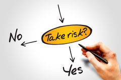 Take the risk Royalty Free Stock Photo