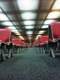 Take a seat. Seat in Broading area Donmuang Airport Bangkok Royalty Free Stock Photography