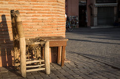 Take a seat in Marrakech Royalty Free Stock Photo