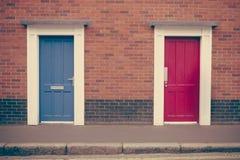 British Doors Stock Image