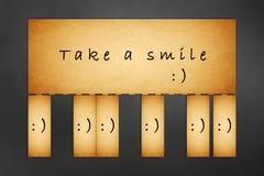 Take a smile ! Royalty Free Stock Photo