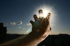 Take the sun Royalty Free Stock Photography