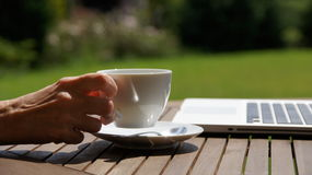Take a time for coffee Royalty Free Stock Photos