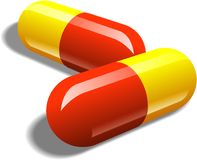 Take Two Pills Royalty Free Stock Photos