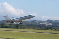 Take wing. Passenger flight Royalty Free Stock Photography