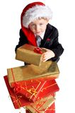 Take your gift. Royalty Free Stock Photo