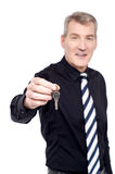 Take your house key. Stock Photography