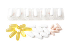 Take your meds on time Stock Photography