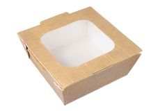 Takeaway Box Royalty Free Stock Images