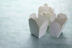 Takeaway Boxes Royalty Free Stock Images