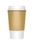 Takeaway Coffee. A computer illustration of a takeaway coffee cup vector illustration