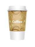 Takeaway Coffee. A computer illustration of a takeaway coffee cup royalty free illustration