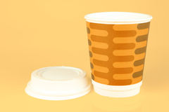 Takeaway Coffee Cups Royalty Free Stock Images