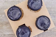 Takeaway Coffee Holder Royalty Free Stock Photos