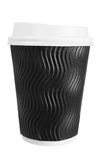 Takeaway Cup of Coffee Royalty Free Stock Images