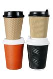 Takeaway Cups of Coffee Stock Image