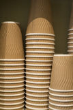 Takeaway cups Royalty Free Stock Photography