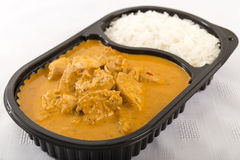 Takeaway Curry Stock Image