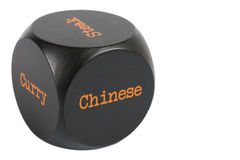 Takeaway Dice. Chinese Stock Photography