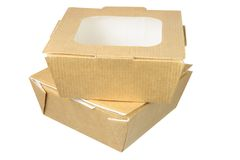 Takeaway Food Boxes Royalty Free Stock Photo