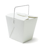 Takeaway Food Container Royalty Free Stock Photography