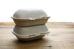 Takeaway Food Containers Royalty Free Stock Photo