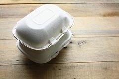 Takeaway Food Containers Royalty Free Stock Photography