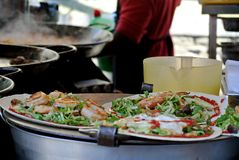 The takeaway food. In london Stock Image