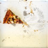 Takeaway Pizza Royalty Free Stock Photos