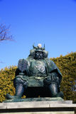 Takeda Shingen Statue at Kofu, Japan Royalty Free Stock Photography