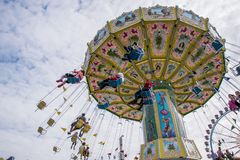 Oktoberfest 2017 Munich Germany Theme Park Ride royalty free stock photography
