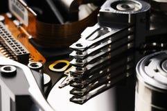 Taken apart disk backround Royalty Free Stock Photography