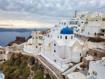 Santorini, Greek Island in the Aegean taken in April 2018. Taken in April 2018 post processed in HDR royalty free stock photo