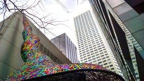Houston, Texas. Taken at downtown Houston, Texas a major business district royalty free stock image