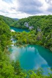 Plitvice Lakes National Park, Croatia. royalty free stock photos