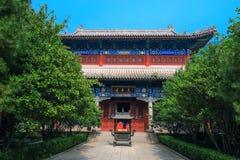 A great view of Yuanchen palace ,qingdao Tanqing Palace2. Taken at Qingdao Badaguan , July20,2017 Stock Images