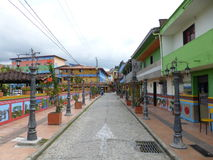 Taken in Salento, Colombia whilst visiting Cocora Valley Royalty Free Stock Photo
