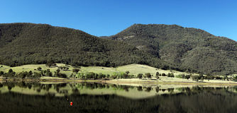 Snowy Mountains. Taken in the Snowy Mountains National Park in NSW, Australia on a clear, crisp Autumn day Royalty Free Stock Photo