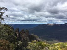Katoomba outlook Royalty Free Stock Photos