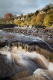 Wain Wath Falls. Taken in the Yorkshire Dales National Park, UK Royalty Free Stock Photography