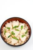 Takenoko-gohan Stock Image