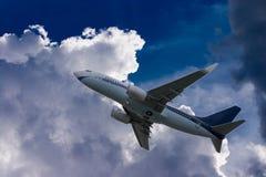 Takeoff royalty free stock photos