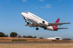 Takeoff airplane Royalty Free Stock Photos