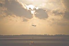 Takeoff stock photo