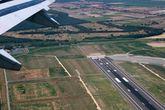 Takeoff from Rome Royalty Free Stock Image