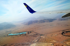 Takeoff from Sharm el-Sheikh Stock Photos