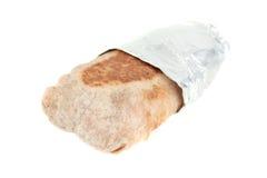 takeout burrito мексиканское стоковое изображение rf