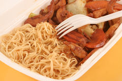 Takeout chinês foto de stock royalty free