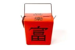 Takeout chinês foto de stock