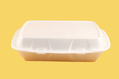 Takeout container Royalty Free Stock Photos